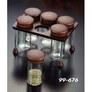 6 Spice Bottle Set (6 Spice Bottle Set)