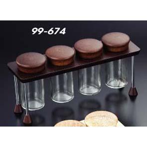 4 Spice Bottle Set (4 Spice Bottle Set)