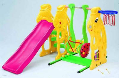 Rabbit Slide W/Ladybug Swing