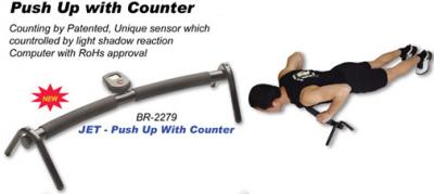 JET - Push Up With Counter (JET - Push Up со счетчиком)