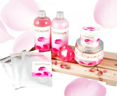 【 BIO`CROWN 】Rose Essence Oil Bath Series。Skin Care