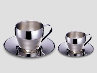 Coffee Cup, Stainless Steel Coffee Cup, Double Wall Coffee Cup, Cup, Coffee Mug (Kaffeebecher, Edelstahl Coffee Cup, Double Wall Coffee Cup, Cup, Coffee Mug)