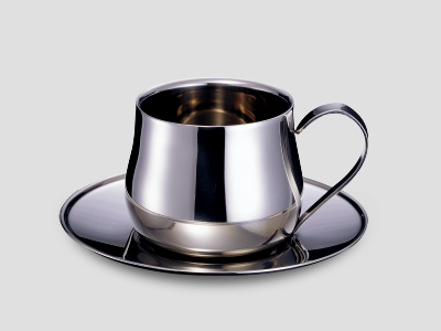 Stainless Steel Coffee Cup, Double Wall Coffee Cup, Coffee, Tableware, Houseware (Edelstahl Coffee Cup, Double Wall Kaffeetasse, Kaffee, Geschirr, Haushaltsartike)