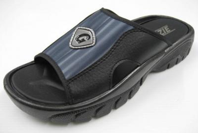 PVC air blowing injection men`s slippers (ПВХ воздух дует тапочки инъекций мужчин)