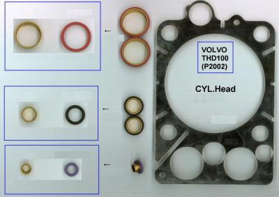 CYLINDER HEAD GASKET (ZYLINDERKOPF DICHTUNG)