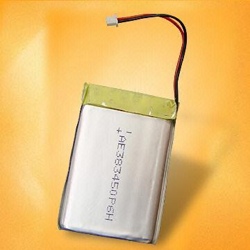 Lithium Polymer Batteries for MP3, Mobile Phones, Portable HDs/Audio and Video D