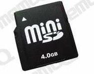 Mini SD Card(Mini Secure Digital Card) (Mini SD Card (Mini Secure Digital Card))