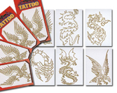 Gold Trim Tattoo (Золото Trim татуировки)
