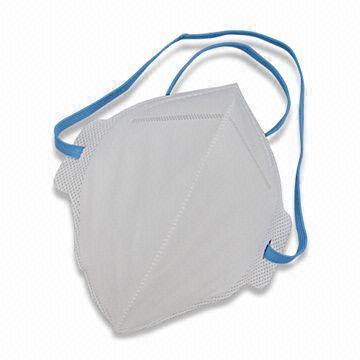 EN149:2001 FFP2 Foldable Particulate Respirator (EN149: 2001 FFP2 Faltbarer Partikel Atemschutzmaske)