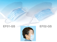 FACE MASK WITH ANTI-FOG SHIELD (MASQUE AVEC BOUCLIER ANTI-FOG)