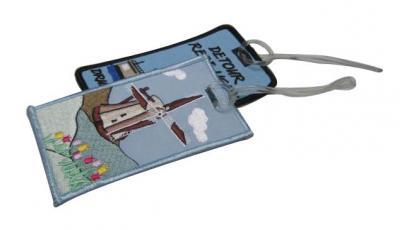 Embroidery Luggage Tags (Broderie Luggage Tags)
