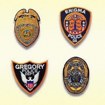 Embroidered Police Patch / Fireman Patch / Military Patch (Brodé Police Patch / Patch Pompier / Militaire Patch)