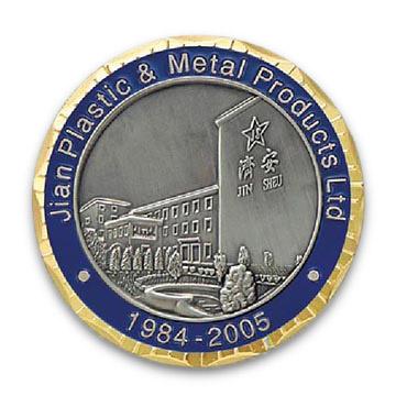 Collectible Memorabilia and Souvenir Coin with Customized Logo (Коллекционная МЕМОРАБИЛИЯ и сувенирные монеты с настраиваемыми Logo)