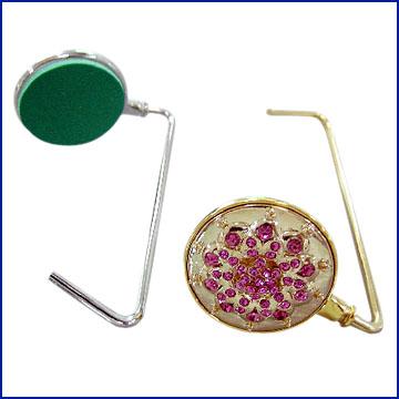 Bag Hanger with Gold and Imitation Rhodium Finish (Сумка для подвеса с Имитация золота и родия Готово)