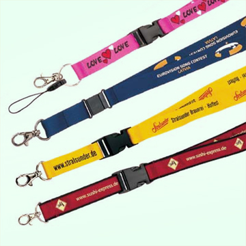 Polyester or Nylon Lanyards Available in Customized Specifications (Полиэстера или нейлона Стропы Доступные в Customized Спецификации)