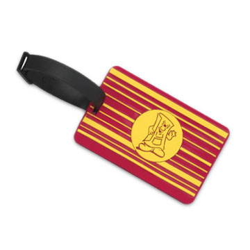 Promotional Soft PVC Luggage Tag, Customized Designs are Welcome