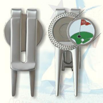 Metal Golf Divot Tool, Available in Various Finishes and Minimum Order Quantity (Металл Гольф Divot инструмента, имеющиеся в различных отделок и Минимальное количество заказа)
