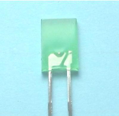 2x5mm Diffused Yellow Green LED Lamp (Long Lead) (2x5mm Рассеянное Желтый Зеленый LED лампы (длительный))