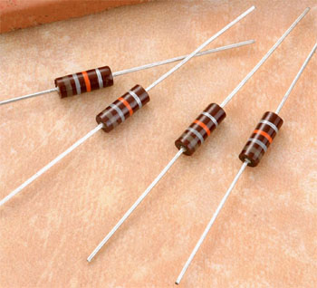 COR - Carbon Composition Resistors (COR - Carbon Состав Резисторы)