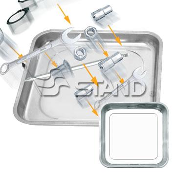 Square Magnetic Tray (Площадь Магнитный лоток)