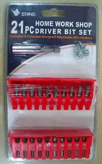 21pc Driver Bit Set (21pc разрядный драйвер Установить)