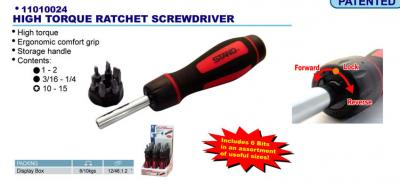 High Torque Ratchet Screwdriver (High Torque Ratchet Schraubendreher)