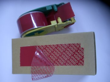 Tamper Evident Tape / Security Tape (Tamper Evident Tape / Sécurité Tape)