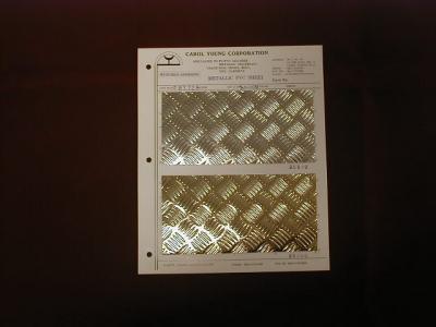 METALLIC RIGID SHEET WITH SELF-ADHESIVE FOR WALL COVERING , INDOOR DECORATION (МЕТАЛЛИЧЕСКИЕ ЖЕСТКИЕ ЛИСТ с самоклеющейся для облицовки стен, для домашнего убранства)