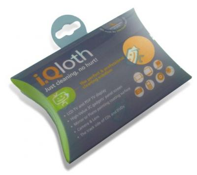 iQloth Microfiber Screen Cleaning Cloth (iQloth Screen Microfaser-Reinigungstuch)