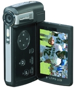 5MP Micron CMOS Camcorder with Game Pad & 3 (5MP Micron-CMOS-Camcorder mit Game Pad & 3)