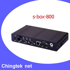 S-Box- 800   FanLess Slim BOX PC (S-BOX 800-Fanless Slim Box PC)