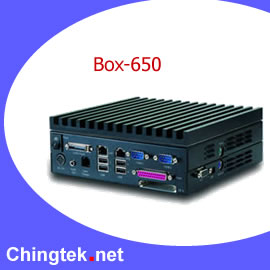 Box- 650  FanLess BOX PC (Box-650 Fanless Box PC)