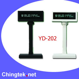 YD-202   VFD Customer Display (YD 02 VFD Customer Display)