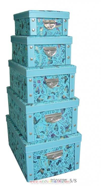 storage box/gift boxes with knock down design (Коробка для хранения / Подарочные коробки с сбить дизайн)