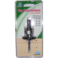 Top counterbore/Hand tools