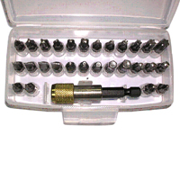 Power Screwdriver Bits / Screwdriver Bits Kit/Hand tools (Power-Schraubendreher-Bits / Screwdriver Bits Kit / Handwerkzeuge)