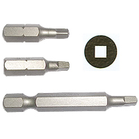 Square Insert / Long / Torsion Bits/Hand tools (Square Insérer / Long / Bits de torsion / Hand Tools)