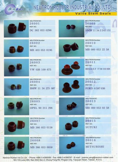 Valve stem Seal (Tige de valve Seal)