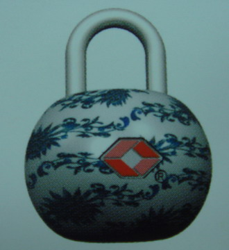 COMBINATION LUGGAGE LOCK (GEP�CK COMBINATION LOCK)