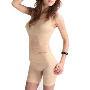 Long Infrared 2 Piece Body Forming Corset With Shorts (Длинный Инфракрасные 2 шт формирования фигуры Корсет с шортами)