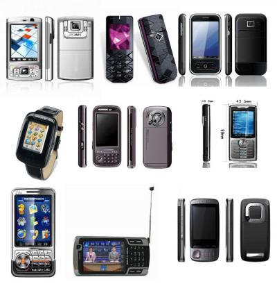 Mobile Phones (Мобильные телефоны)
