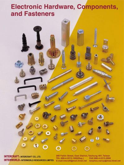 Electronic Hardware, Components, and Fasteners (Electronic Hardware, Komponenten und Verbindungselemente)