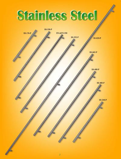 STAINLESS STEEL KNOBS AND PULLS (РУЧКИ ИЗ НЕРЖАВЕЮЩЕЙ СТАЛИ и тянет)