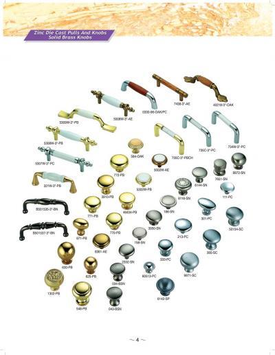 ZINC KNOBS AND PULLS (ЦИНК ручки и PULLS)