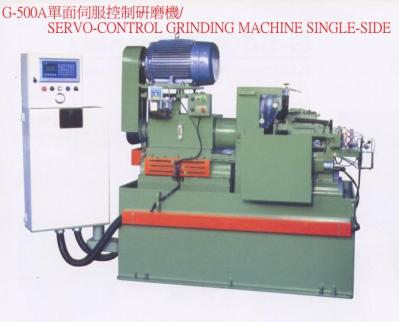 SERVO-CONTROL GRINDING MACHINE SINGLE-SIDE (SERVO-CONTROL GRINDING MACHINE Односторонний)
