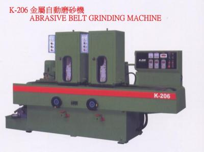 AUTOMATIC BELT GRINDING MACHINE (AUTOMATIC BELT GRINDING MACHINE)