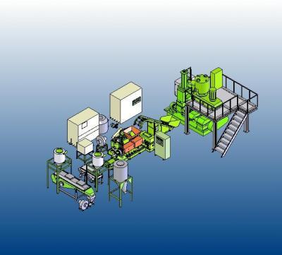 Plastic Processing Machinery - Basic-Machine-Layout (Для производства пластиков - Basic-M hine-Layout)