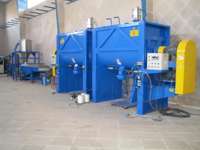 Plastic Processing Machinery - Cooling Screener-Storage Blender (Для производства пластиков - Охлаждение Ковшовой-Storage Blender)