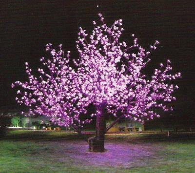 LED cherry tree light (LED arbre de la cerise)