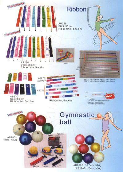 Rhythmic Gymnastic Equipment (Gymnastique rythmique)